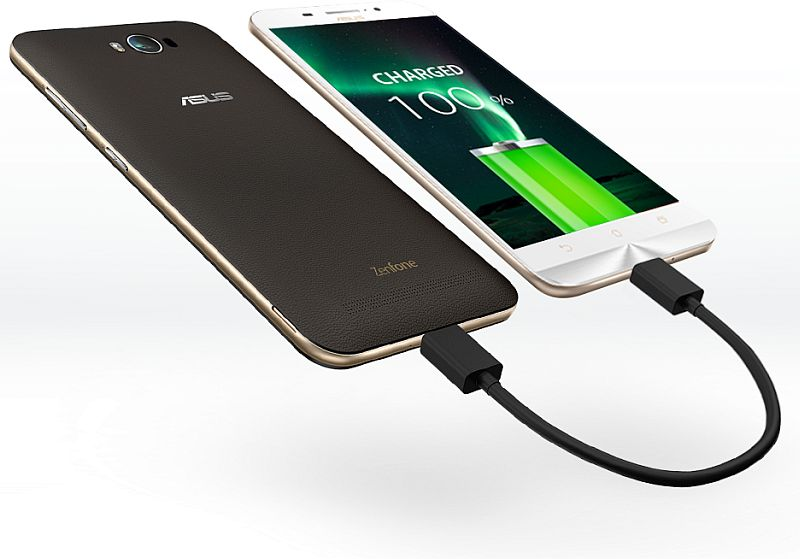 Asus ZenFone Max as a Power Bank for other devices