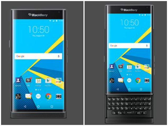 BlackBerry Android based Priv Smartphone in India