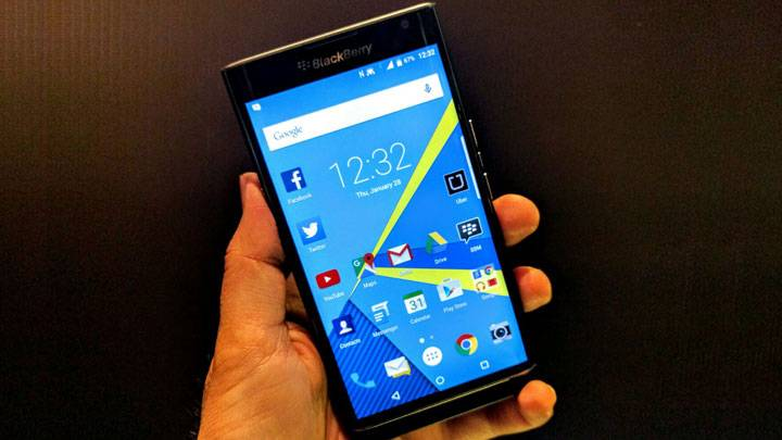 BlackBerry Priv Smartphone in India
