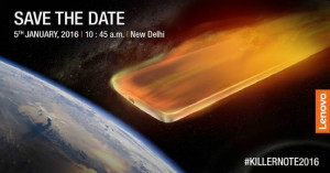 Lenovo Note K4 Smartphone Launch in India