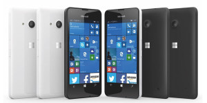 Smartphone Lumia 650 with Windows 10