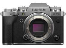 Fujifilm Launches front-line X-T4 Mirrorless Camera